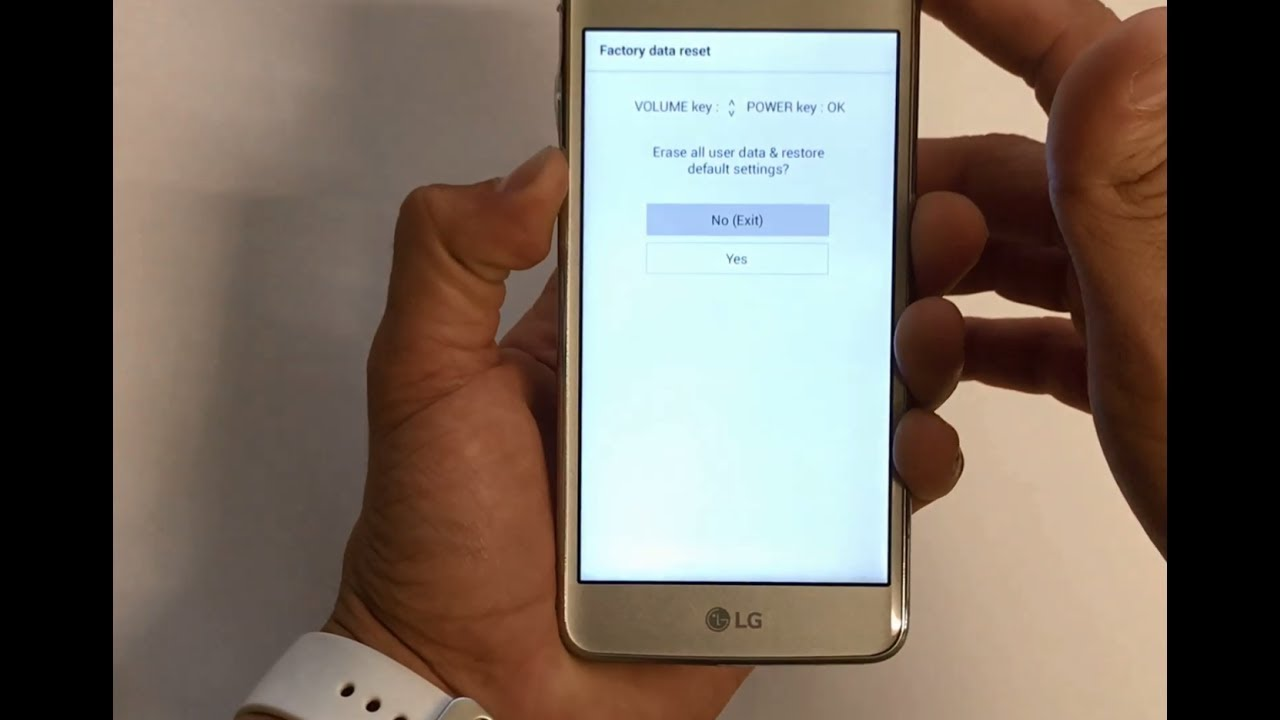 How To Reset LG Aristo - Hard Reset and Soft Reset
