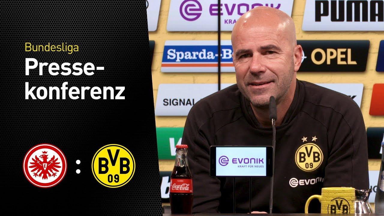 Pressekonferenz mit Peter Bosz | Eintracht Frankfurt - Borussia Dortmund