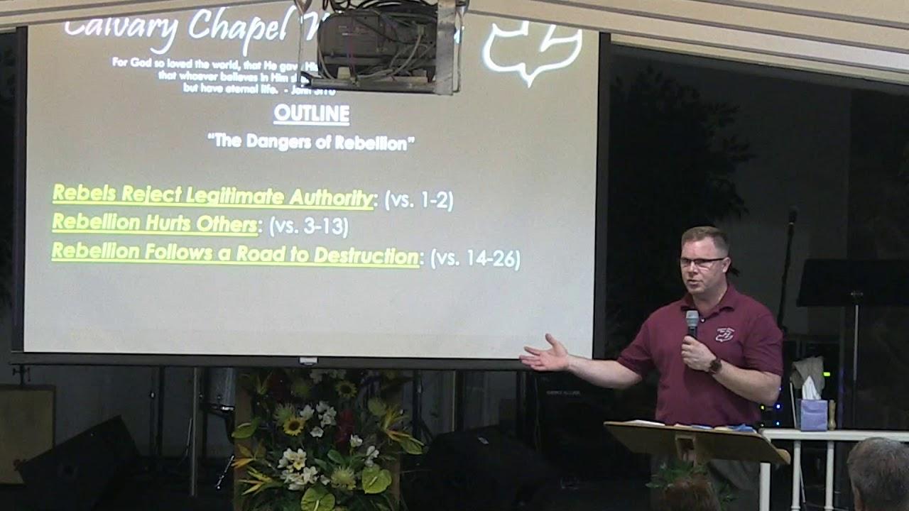 27 March 2019 | CCWO Midweek Study 2 Samuel 20 | Pastor Dan Jacobson