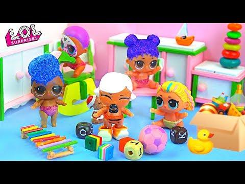 Малышка Маша пропала из детского сада! Мультик про куклы лол сюрприз LOL dolls