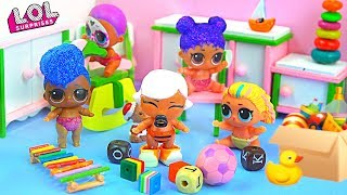 Download Малышка Маша пропала из детского сада! Мультик про куклы лол сюрприз LOL dolls Mp3 and Videos