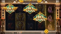 Wings Of Ra Bonus Feature (Red Tiger)