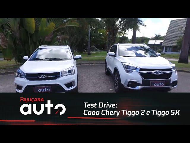 Test Drive: Caoa Chery  Tiggo 2e Tiggo 5X