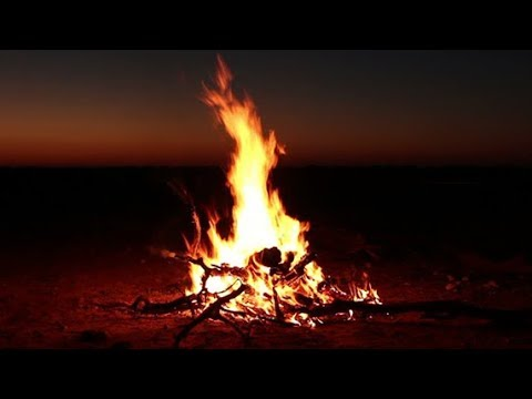 Campfire Meditation Sounds, Night Ambience, For Sleep and Relaxation - #124