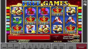 Free Spin And Risk Game On The King Of Cash Slot - Big Win!