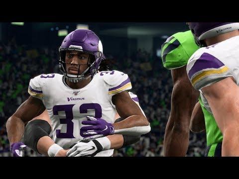 NFL Monday 12/2 Minnesota Vikings Vs Seattle Seahawks Full Game   NFL Week 13 (Madden)