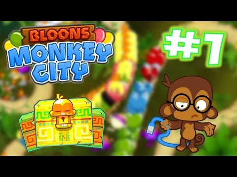 REGROW CHAOS! Opening The Ancient Pack :O Legendary Cards :OO - Bloons Monkey City