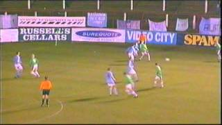 Glentoran v Ballymena United 2002 County Antrim Shield Final