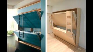 Amazing Space Saving Furniture Hidden In Wall #2