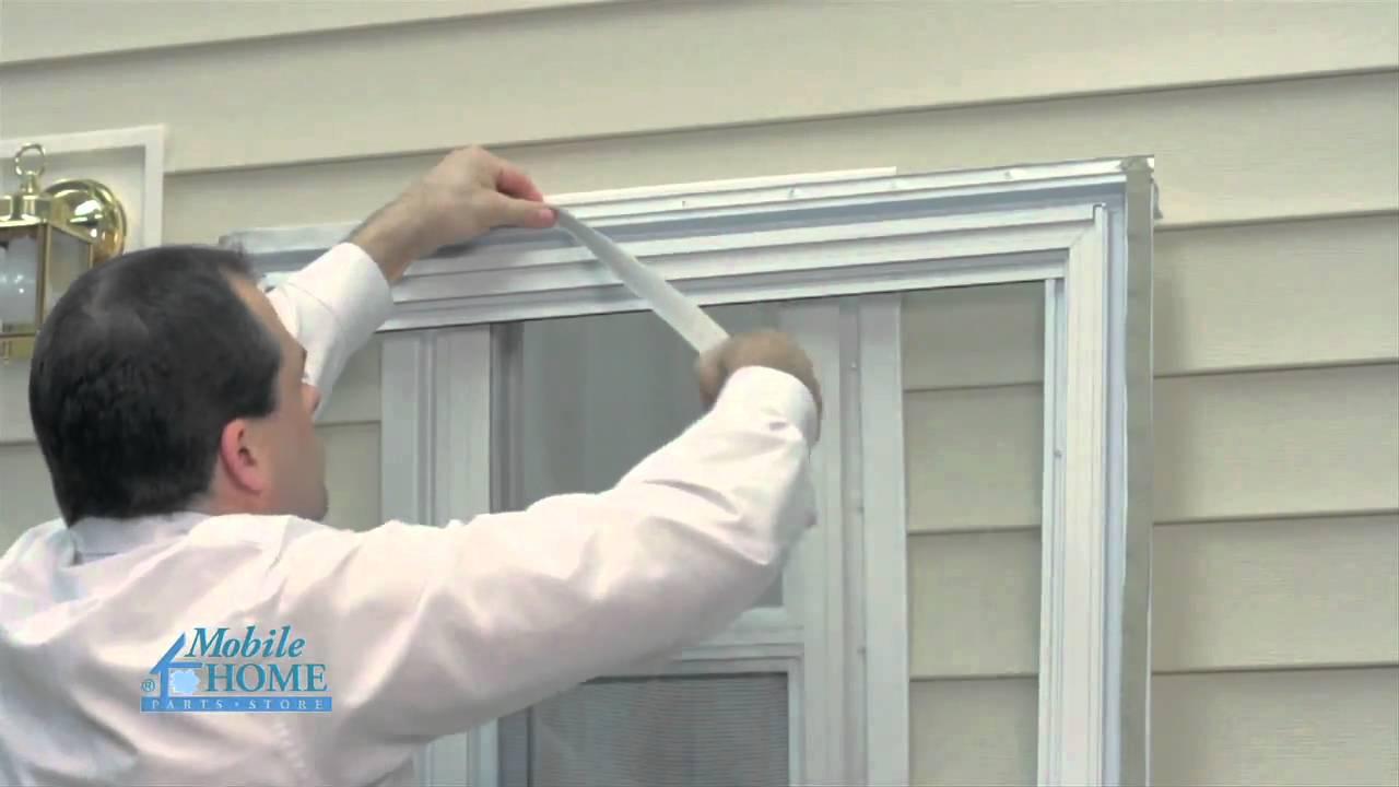 DIY Storm Door Installation - YouTube