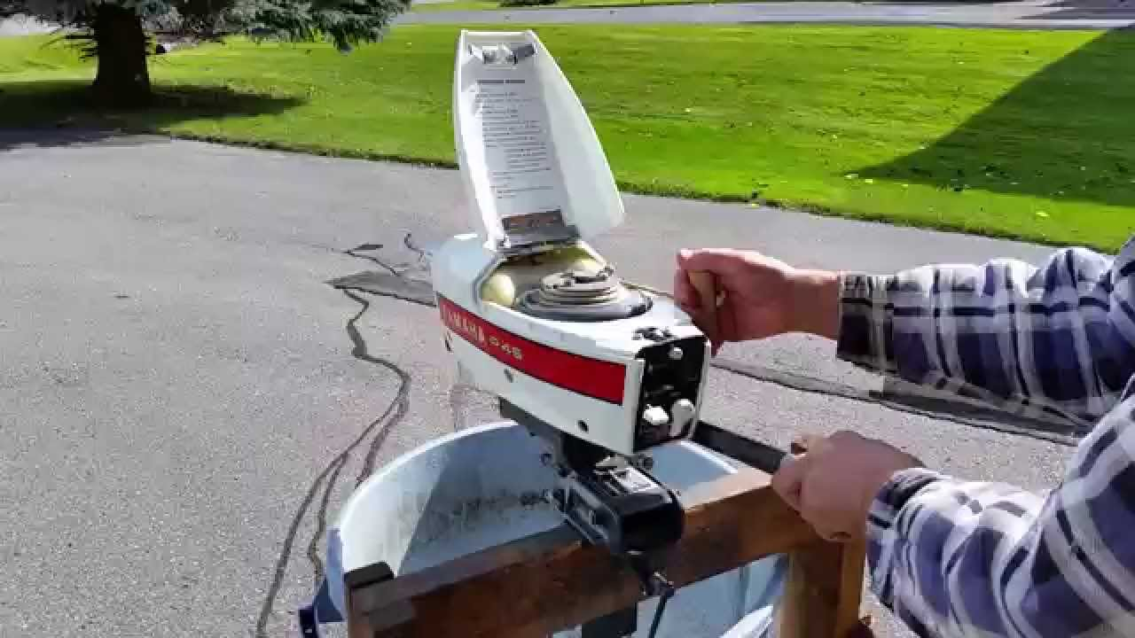 Rare Hp Outboard For Sale