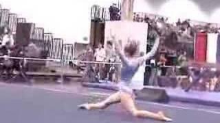 Ahlai Level 5 Floor Arnold Classic 2007 USAG Gymnastics