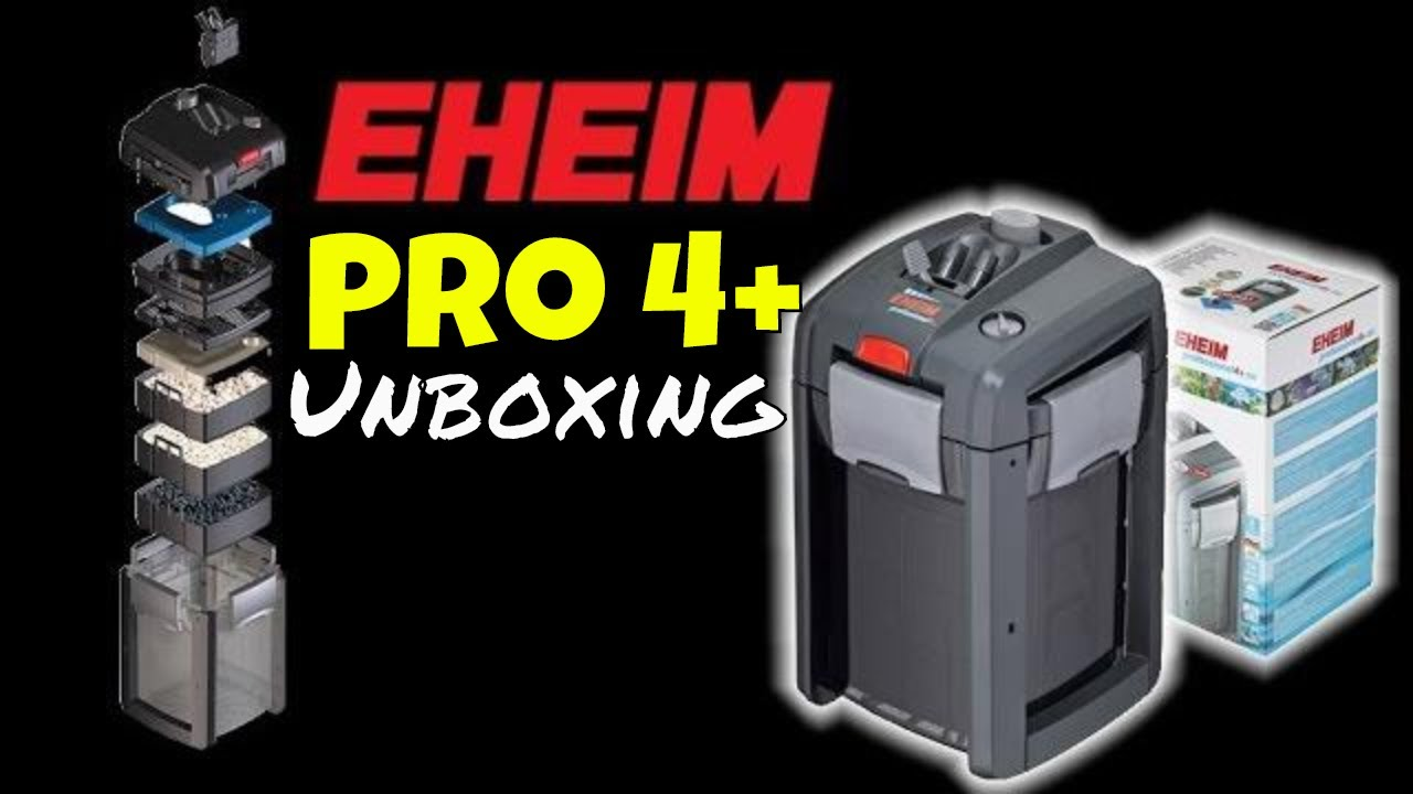eheim pro 4 unboxing professionel 4 350 canister filter install youtube. Black Bedroom Furniture Sets. Home Design Ideas