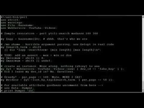 Perl tricks