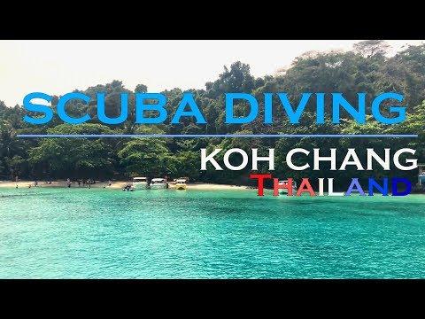ดำน้ำ เกาะช้าง Koh Chang Marine Park/ HTMS wreck scuba diving Thailand