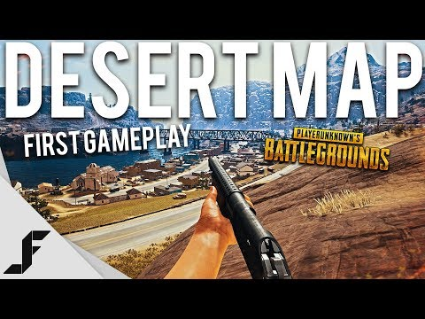 FIRST GAME ON NEW DESERT MAP – Playerunknown's Battlegrounds