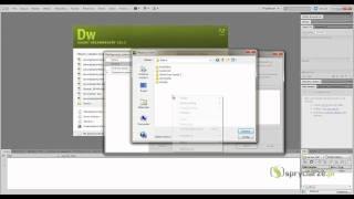Adobe Dreamweaver CS5/CS5.5 - Konfiguracja do pracy z PHP