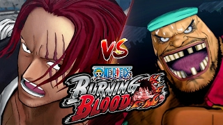 One piece: burning blood - red-haired shanks vs. blackbeard pirates (yonkou battle!)
