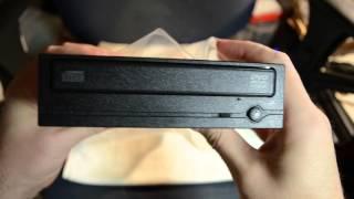 Анбоксинг DVD-привода. DVD-RW drive unboxing