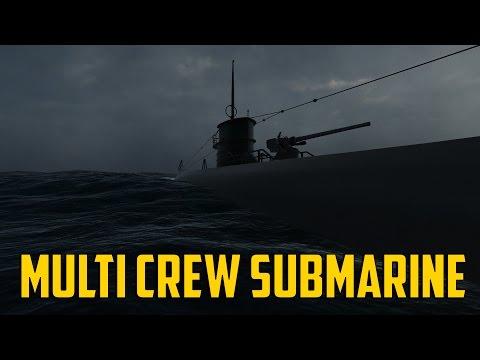 HMS Marulken - Multi Crew Submarine