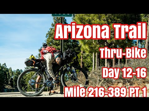 Arizona Trail Mile 216-389. 300 & 750 Mile Racers, Near Death Heat, 66yr Old, Episode 8 Bikepacking