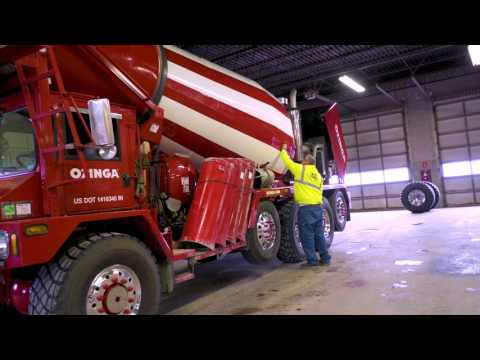 A Day in the Life of a Front-Discharge Ready Mix Driver