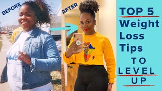 Top 5 fitness & weight loss tips to level up fast | health, time management, nutrition, motivation