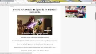 cara download video Anime di samehadaku