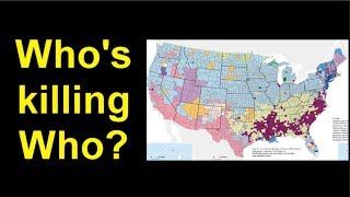 Who's killing who, by race and gender, FBI statistics. thumbnail
