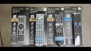 GE Ultra Pro Universal Remote 4 Device 33709