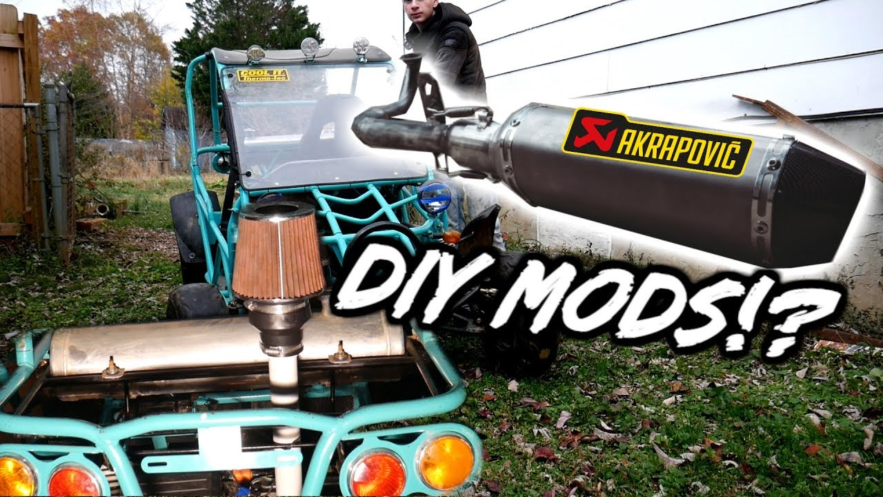 GY6 150cc Dune Buggy is Back +Exhuast & Performance MODS!!