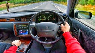 1998 Toyota Crown (S150) 2.5 Royal Touring - POV TEST DRIVE / Тест драйв от первого лица