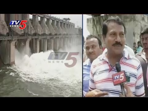 Singur Project Water Levels Increases With Heavy Inflow | TV5 News