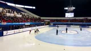 2014 ISU Short Track WC (Montréal) Women's 1500m Semi Final Min-jeong Choi 최민정 선수