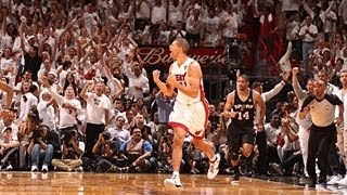 Shane Battier's BIG Game 7 from downtown!