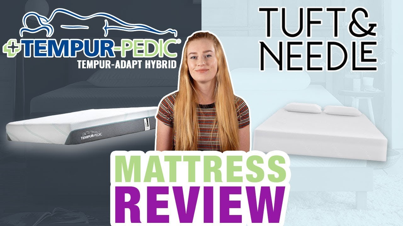 Tuft And Needle Vs Tempur Pedic Mattress Review 2018 Updated Youtube