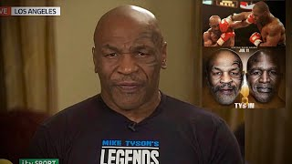 "Mike Tyson Accepts Evander Holyfield CHALLENGE for an Epic TRILOGY Exhibition ""MIND-BOGGLING"" Fight"