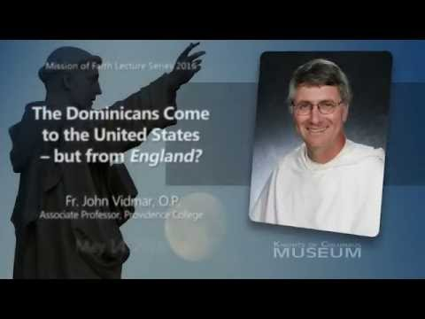 The Dominicans Come to the United States - But From England?