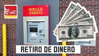 Como Retirar dinero en efectivo en el Cajero automatico de WellsFargo!