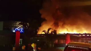 Durban fire at Durban Christian Centre (DCC) Jesus Dome KZN -