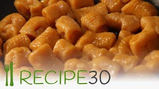 HOW TO MAKE SWEET POTATO GNOCCHI recipe by Recipe30.com