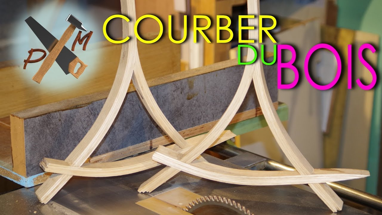 comment courber du bois cintrer du bois lamell coll. Black Bedroom Furniture Sets. Home Design Ideas
