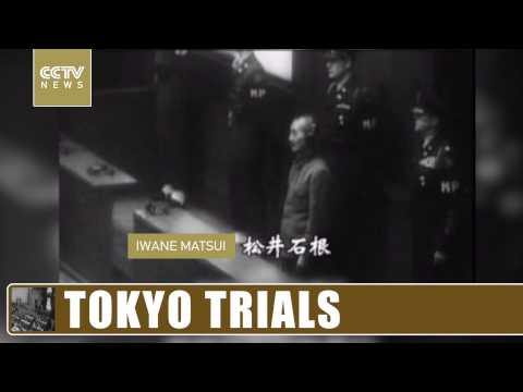 The Tokyo trial charged 28 Japanese military leaders of 'Class A' crimes
