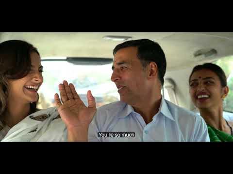 PadMan Confessions 1  Akshay Kumar  Sonam Kapoor  Radhika Apte