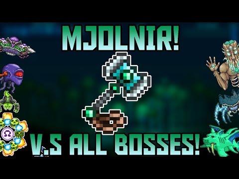 Mjölnir V.S All Bosses in Expert Mode! ||Thorium Mod Expert Mode||