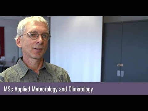MSc Applied Meteorology and Climatology