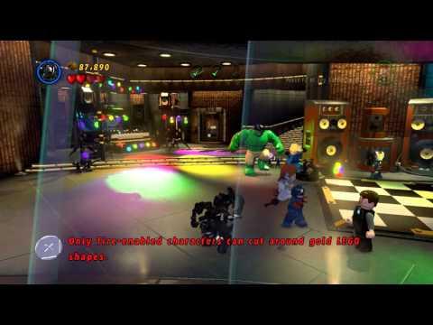 LEGO MARVEL Super Heroes - Tony Stark Kills Venom 1080p