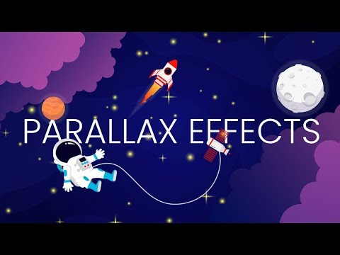 Background Parallax Effect On Mouse Move | Source Code Multi Layer Javascript Parallax
