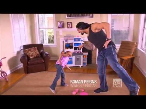 Hq Wallpaper Girl Roman Reigns As A Dad Youtube