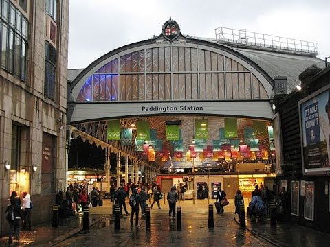 Places to see in London UK Paddington Station YouTube